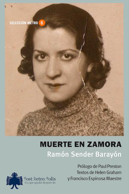 Ramón Sender Barayón, Muerte en Zamora. 17 euros