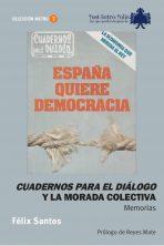 Félix Santos, Cuadernos para el diálogo y la morada colectiva. Memorias. 20 Euros